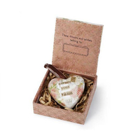 Kelly Rae Roberts Heart Ornament - Nurture Your Vision