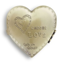 Kelly Rae Roberts Compact Mirror - Grateful Heart