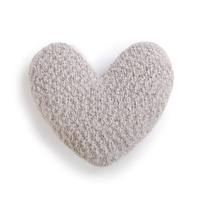 Demdaco Giving Heart Pillow - Taupe
