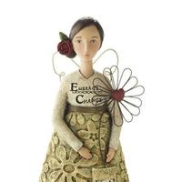 Kelly Rae Roberts Figurine - Let Your Heart Bloom