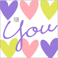 Greeting Card - For You