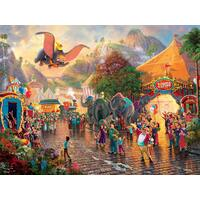 Thomas Kinkade Disney Princess 300 Oversized Piece Puzzle - Dumbo