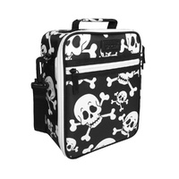 Sachi Insulated Kids Lunch Tote - Skulls
