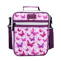 Sachi Insulated Kids Lunch Tote - Butterflies