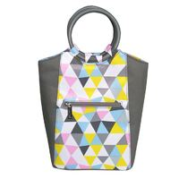 Sachi Insulated Lunch Bag - Triangle Mosaic