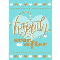 Greeting Card - Happily Ever After - Wedding