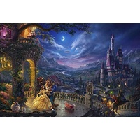 Thomas Kinkade Disney 750pc Puzzle - Beauty & the Beast Dancing in the Moonlight