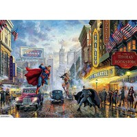 Thomas Kinkade Dc Comics 1000pc Puzzle - The Trinity