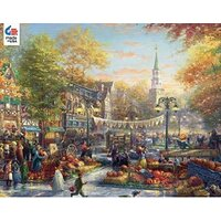 Thomas Kinkade 1000pc - The Pumpkin Festival