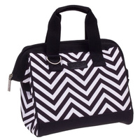 Sachi Insulated Lunch Tote - Chevron Stripe