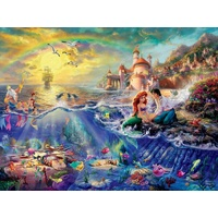 Thomas Kinkade Disney 1500pc - The Little Mermaid