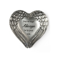 Angel Wings Dish - May An Angel Always Be By Your Side