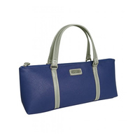 Sachi Insulated Wine Tote - Navy