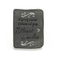 Inspirational Magnet - Every Time I think of you my Heart Smiles