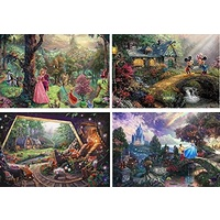 Thomas Kinkade Disney 4 x 500pc - V5