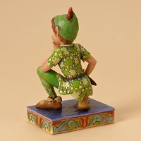 Jim Shore Disney Traditions - Peter Pan Childhood Champion Figurine