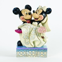 Jim Shore Disney Traditions - Mickey & Minnie Mouse Congratulations Wedding figurine