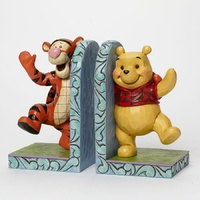 Jim Shore Disney Traditions - Winnie The Pooh And Tigger Bookends