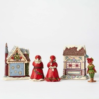 Heartwood Creek Classic - Christmas Village 5 piece Mini gift set