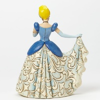 Jim Shore Disney Traditions - Cinderella Midnight At The Ball Castle Dress Figurine