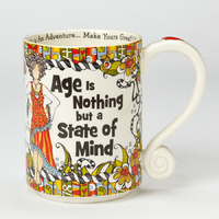 Suzy Toronto Mug - Age is Nothing but a State of Mind