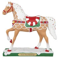 The Trail of Painted Ponies Tropp Sweet Treat Round Up Figurine