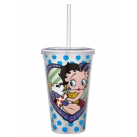 Betty Boop By Britto Tumbler Pudgy Kiss