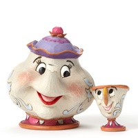Jim Shore Disney Traditions - Mrs. Potts and Chip A Mother's Love Figurine
