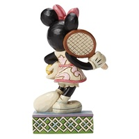 Jim Shore Disney Traditions - Minnie Mouse Tennis, Anyone? Figurine