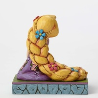 Jim Shore Disney Traditions - Rapunzel Personality Pose Be Creative Figurine