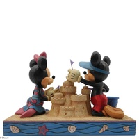 Jim Shore Disney Traditions - Mickey & Minnie Mouse Seaside Sweethearts Figurine