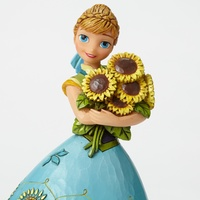 Jim Shore Disney Traditions - Anna Spring In Bloom Frozen Fever Figurine