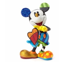 Disney Britto Mickey Mouse with Heart Figurine - Large