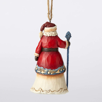 Heartwood Creek Santa around the World Collection - Norwegian Santa Hanging Ornament