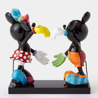 Disney Britto Mickey And Minnie Figurine - Large