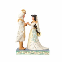 Jim Shore Disney Traditions - Jasmine And Aladdin Wedding Figurine