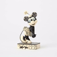 Jim Shore Disney Traditions - Minnie Mouse From Get A Horse - Good-Hearted Gal