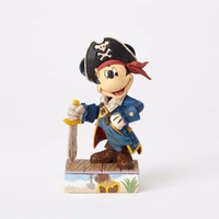 Jim Shore Disney Traditions - Mickey Mouse Pirate - Set Sail For Adventure