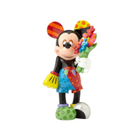 Disney Britto Mickey Mouse with Flower Figurine Large