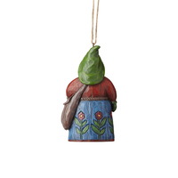 Folklore by Jim Shore - Santa With Bag Hanging Ornament