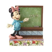 Jim Shore Disney Traditions - Teacher Minnie Mouse - Class Act