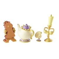 Disney Showcase - Beauty and the Beast - Enchanted Objects Set