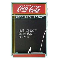 Coca Cola - Wood Chalkboard