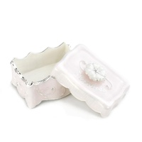 DEMDACO Baby Elegant Charms - Little Treasures Keepsake Box Pink