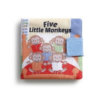 DEMDACO Baby Story Time Puppet - Five Little Monkeys