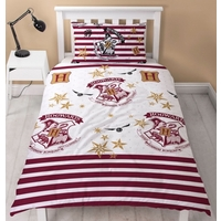 Harry Potter Quilt Cover Set - Single - Muggles Rotary