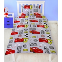 Disney Cars Quilt Cover Set - Single - Velocity