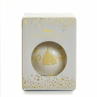 English Ladies Beauty And The Beast - Belle Ornament - White