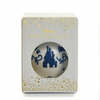English Ladies Snow White Ornament - White