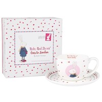 Ruby Red Shoes Teacup and Saucer - London Queen